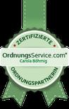 Zertifikat Ordnungsberater Ordnungsservice.com