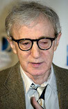 Woody Allen, director e actor de cine.