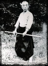 Takamatsu Toshitsugo Uo, ehemaliger Soke der 9 Ryu des Bujinkan Budo Taijutsu. Traditionelle Kampfkunst, Kampfsport, Schwertkampf, Kenjutsu, Stockkampf, Bojutsu