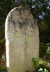 Statue Menhir vers le Cayla