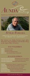 Überblick Lehre von Attilio Ferrara