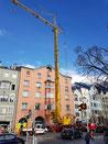 Reparatur- und Instandhaltung Dach, Innenhof, Innstraße 7, Innsbruck