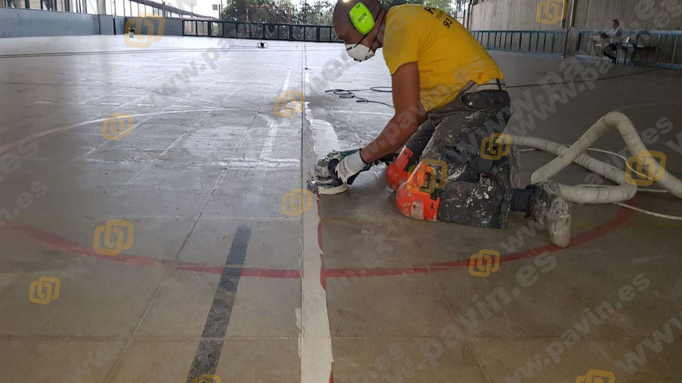 Pavimentos continuos de resina para centros escolares