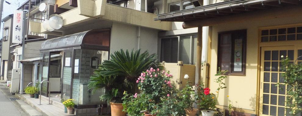 下田温泉 玄関