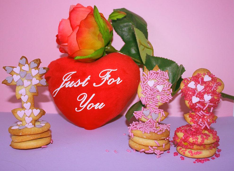 Valentijn liefdeskoekjes bakken