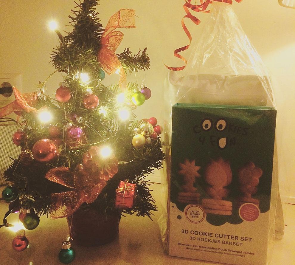 Cadeautje onder de kerstboom