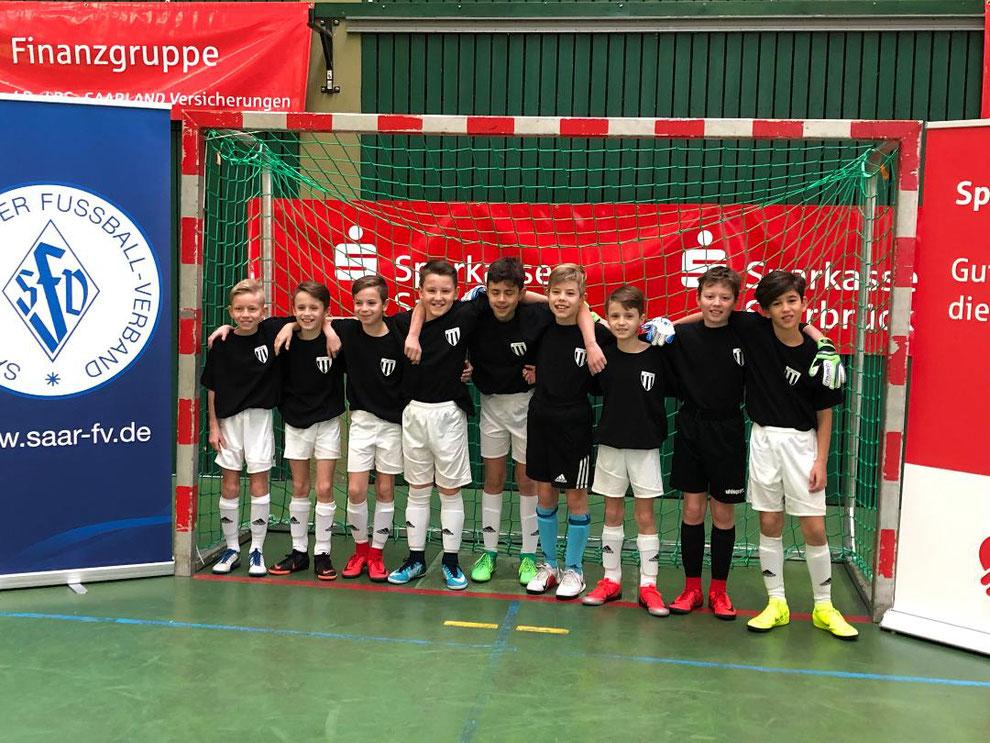 E-Jugend VfB Theley - Vize-Saarlandmeister