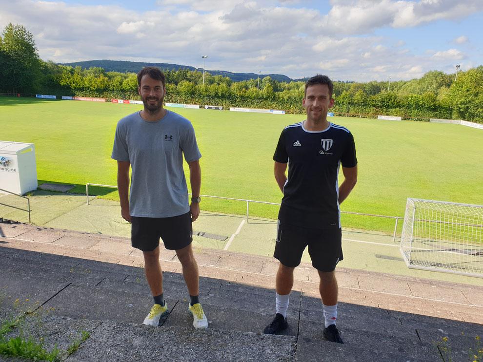 Spielertrainerduo André Dewes und Andreas Oberhauser
