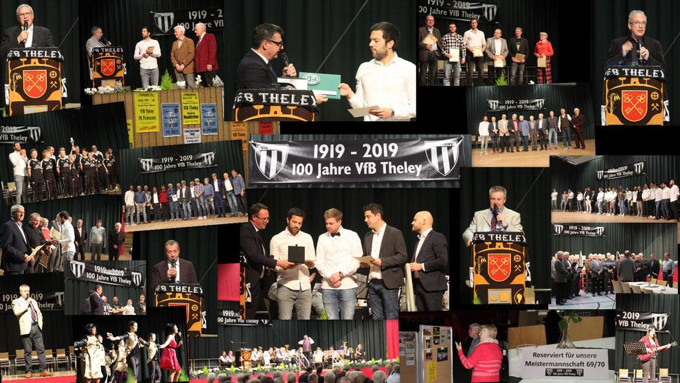 Festkommers 100 Jahre VfB Theley e.V. - Sport- und Kulturhalle Theley