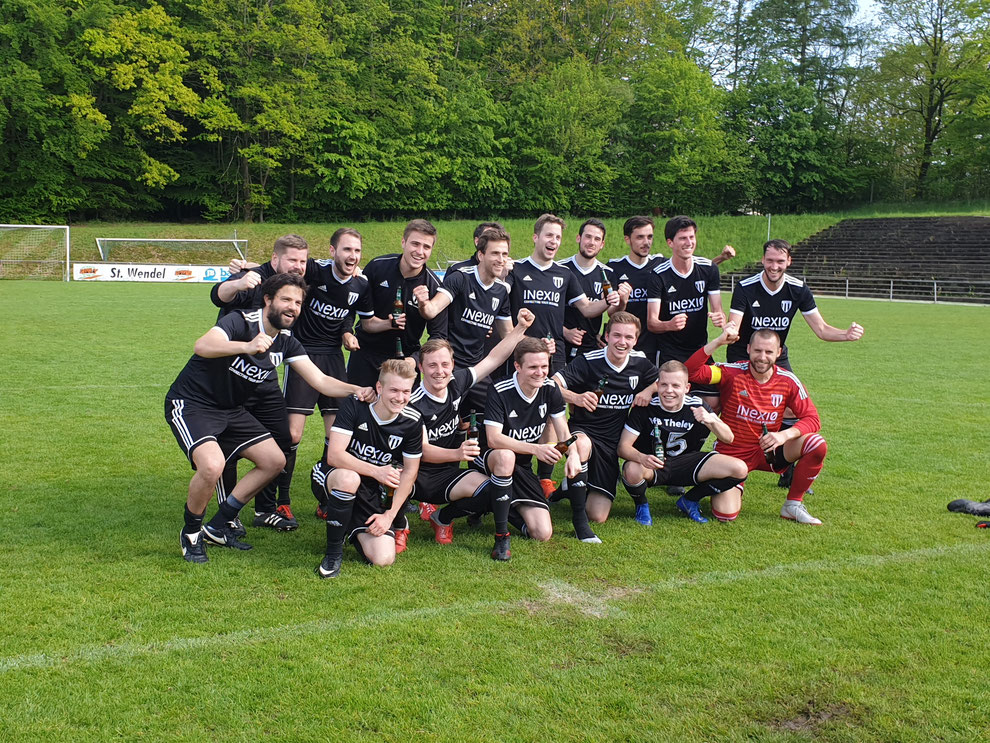 Klassenerhalt geschafft - 1. Mannschaft VfB Theley 2018/2019