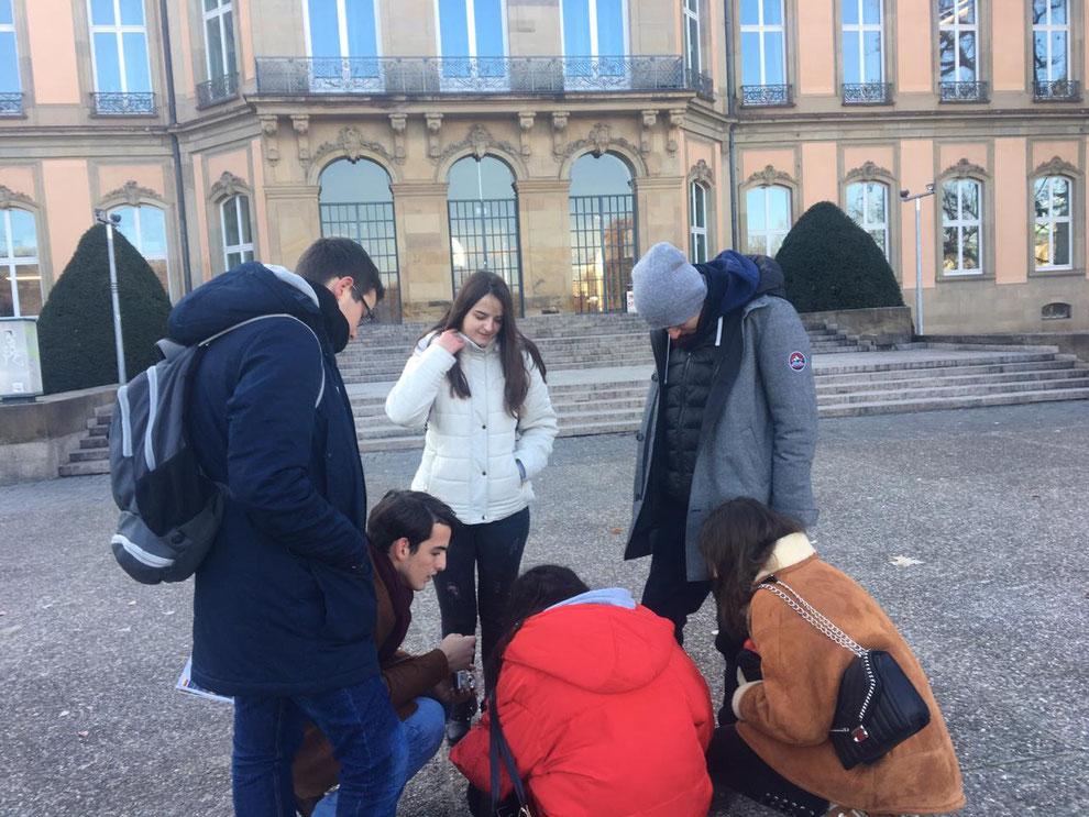 """""""Stadtspiel mit Herz"""" - unterwegs in Stuttgart"""