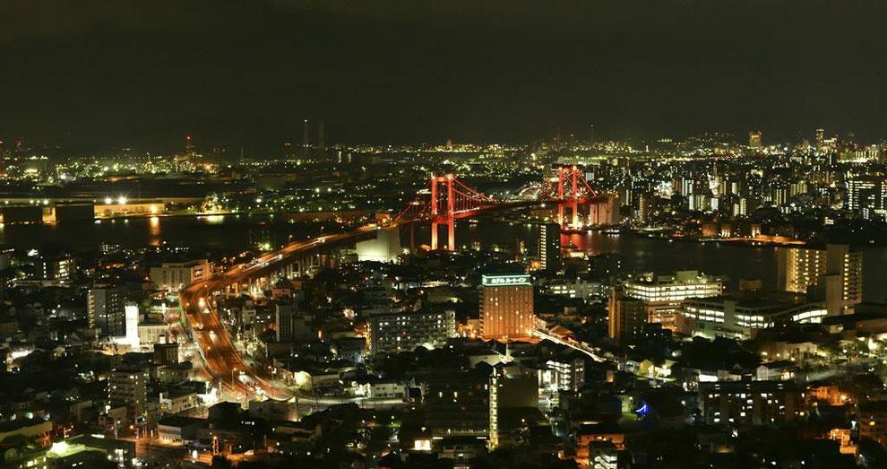 北九州市若松区 高塔山公園 夜景