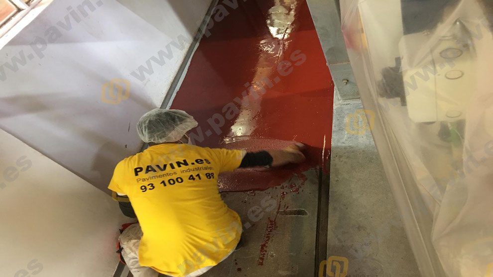 Request a free sample to get a better idea of how the resin floor will look in your warehouse