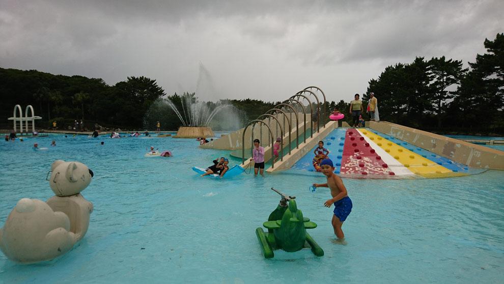 6/20練習がんばっている子供達へのご褒美「みんなでプールへ行こう!」