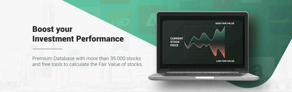 Database fairvalue stocks