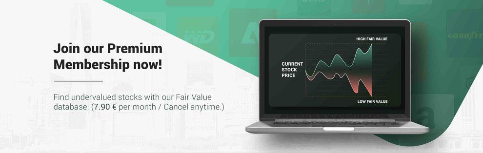 Dividend stock database