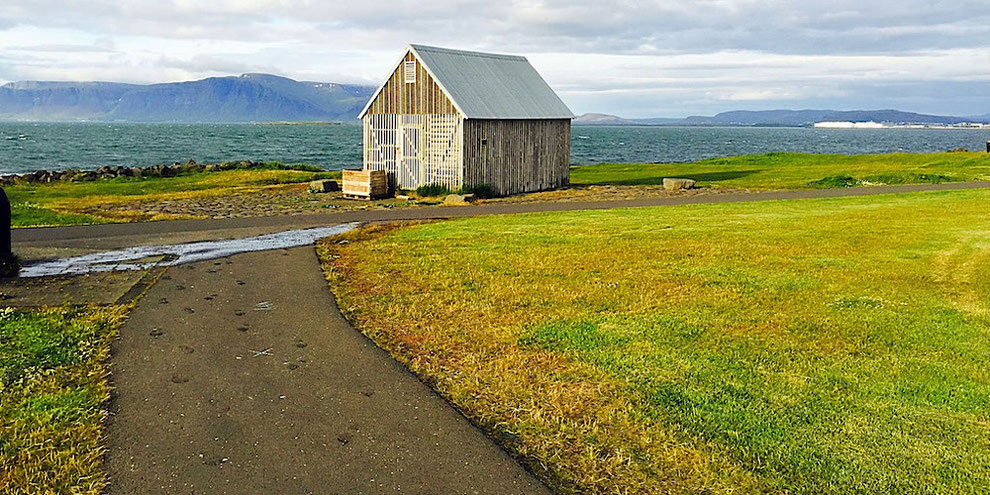 oceanside landscape reykjavik iceland