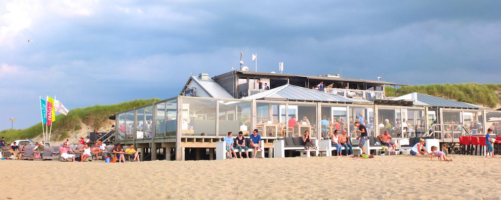 Strandbar Paal 17 auf Texel