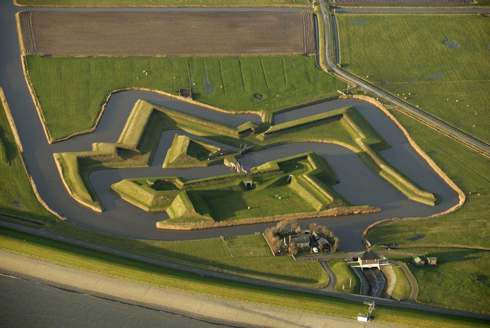 Luftaufnahme Fort De Schans_Bild VVV Texel