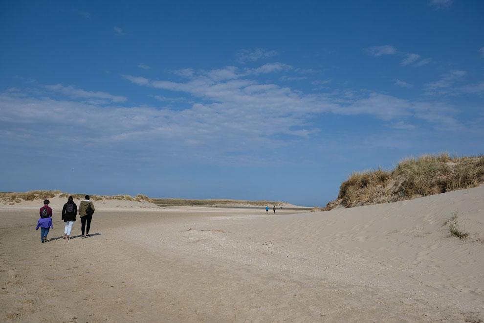 Slufter Texel Naturschutzgebiet, Foto Grafberger
