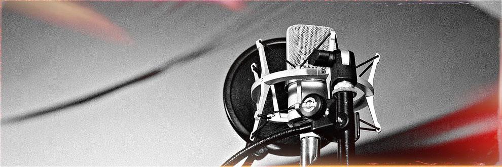 Vocal Recording im Das Michels Tonstudio Hamburg - www.jensmichaelis.com