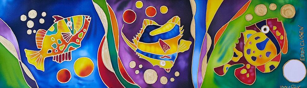 """Edda Clasen, """"Riviera Maya"""", 100 % silk"""