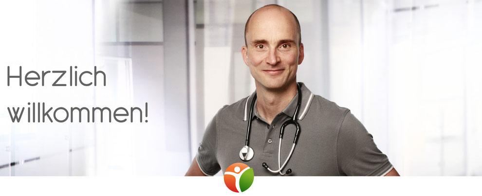 Herzlich Willkommen! Dr. Hannes Neumann-Silkow, Diabetologe, spezialisiert auf alle Arten des Diabetes