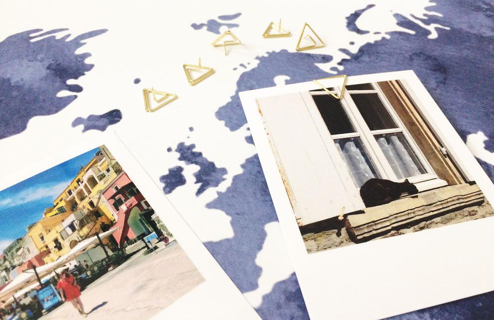 DIY, Weltkarte, Aquarell, Dekoration, Selbstgemacht, Tapete, individuelle Tapete