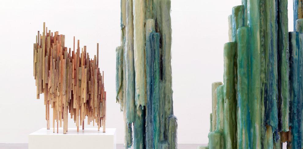 Kavata Mbiti, Skulpturenpark Waldfrieden, Wuppertal, Cragg Foundation, Skulptur, Habitat