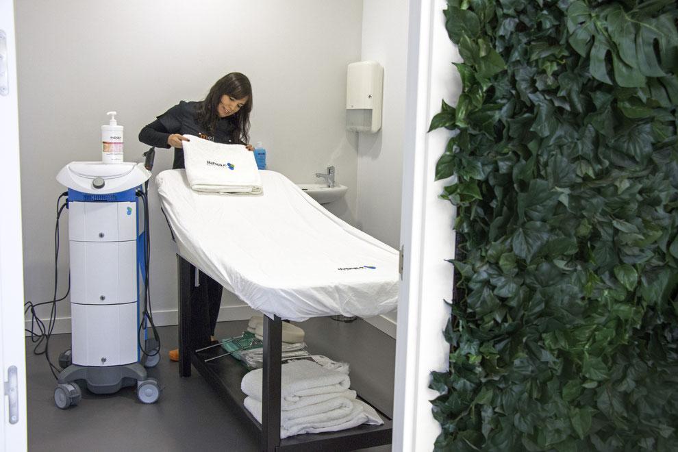 Indiba facial y corporal en clínica Mei Madrid