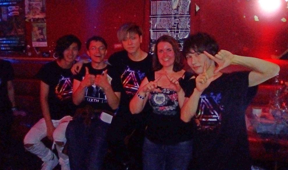 Meet & Greet mit Arata (links), Reiji (mitte) und Ray (rechts)