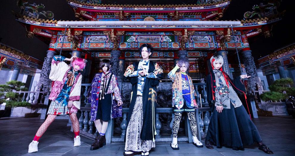 Mikansei Alice September 2019 (von links nach rechts): An, Chihane, Rui, Kazuki, yuiha