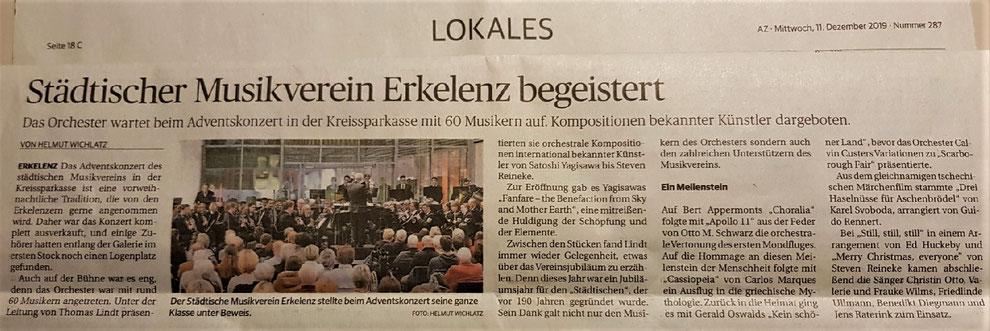 Aachener Zeitung 11.12.2019