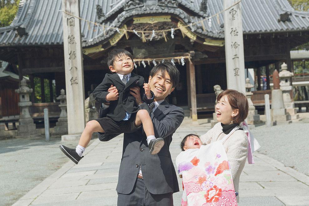 魚吹八幡神社(うすきはちまんじんじゃ)