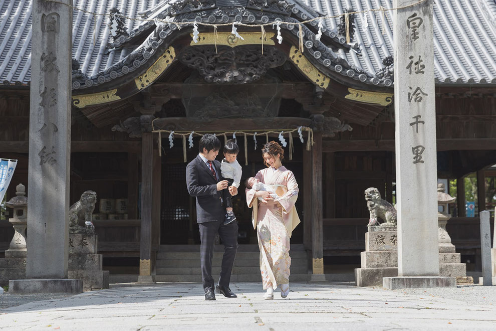 <姫路市>お宮参り・七五三の参拝におすすめの神社