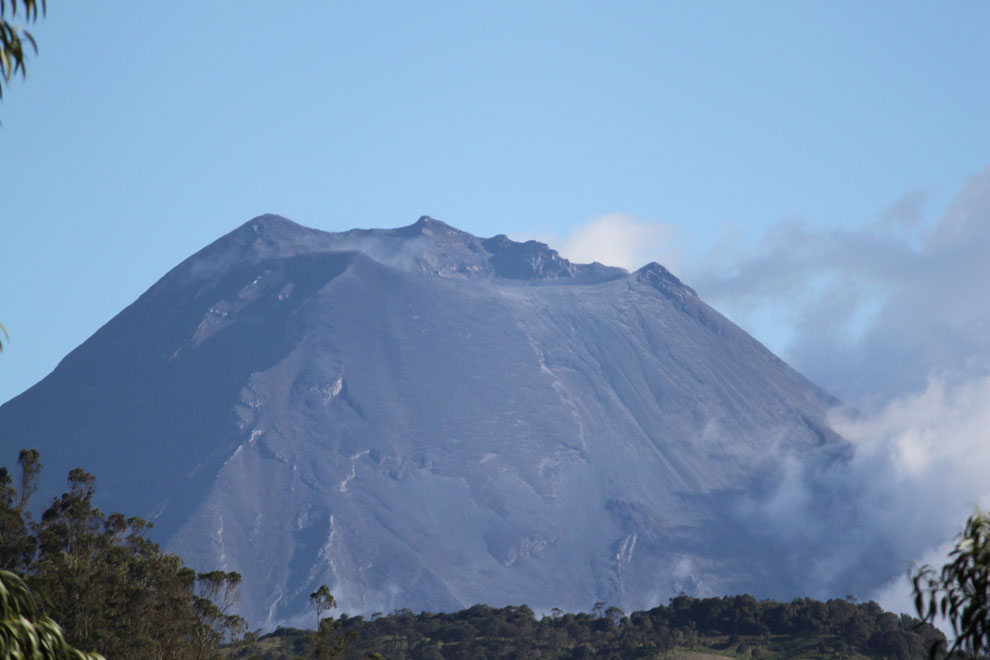 Vulkan Tungurahua bei Baños