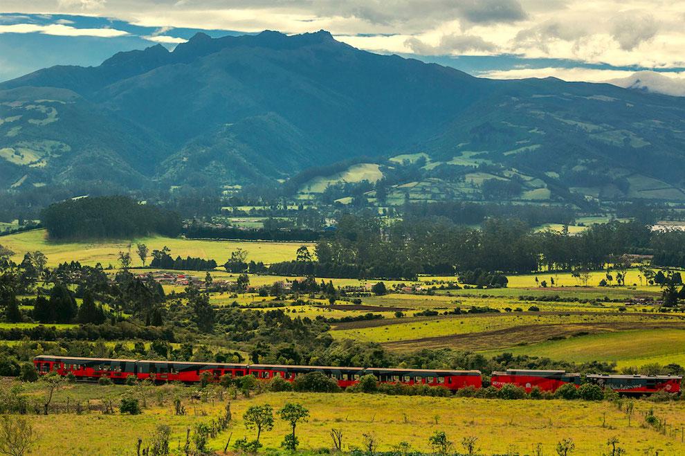 ECUADORline organisiert Reisen im Zug durch Ecuador