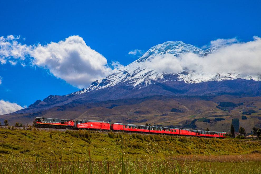 Mit dem Zug durch Ecuador, Tren Ecuador buchen bie ECUADORline