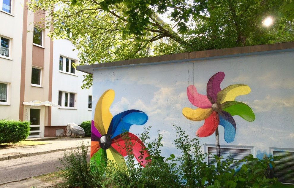 Wandmalerei Graffiti Künstler