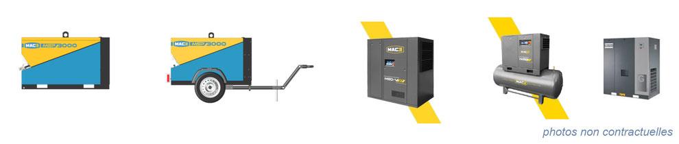 air comprimé / hydraulique - compresseur