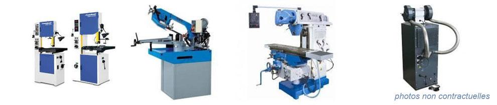 machine outils : tour, rectifieuse, fraiseuse