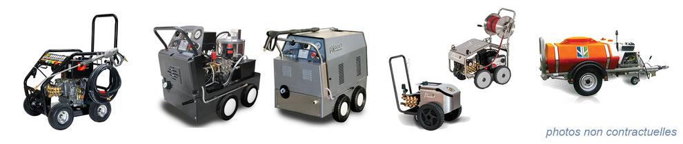 machine outils / nettoyage : nettoyeur haute-pression professionnel