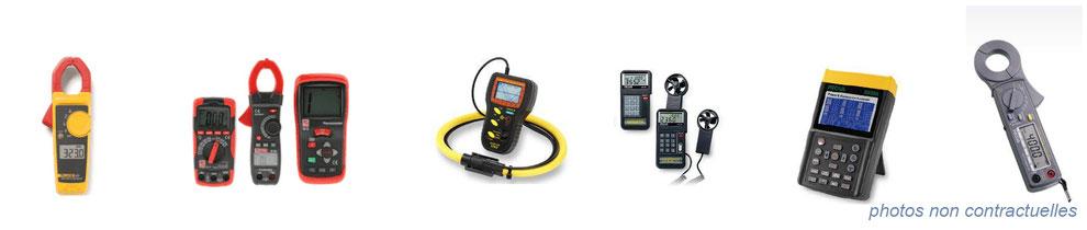 instrumentation de mesure électrique - ohmmètre, voltmètre, ampèremètre