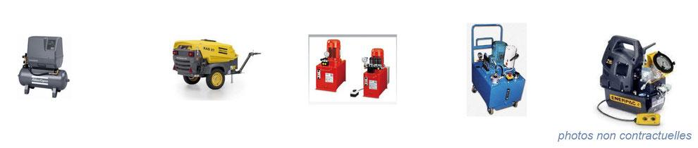 air comprimé / hydraulique - centrale hydraulique