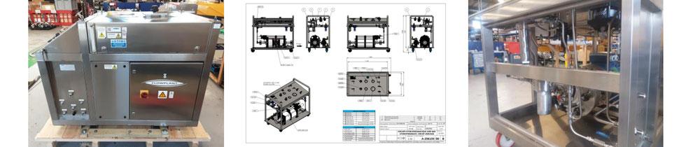 machine-outil sur-mesure pour projet à l'international
