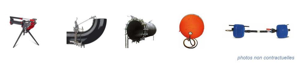 outillage à main généraliste et spécialisé : outillage tube pour oléoduc et gazoduc