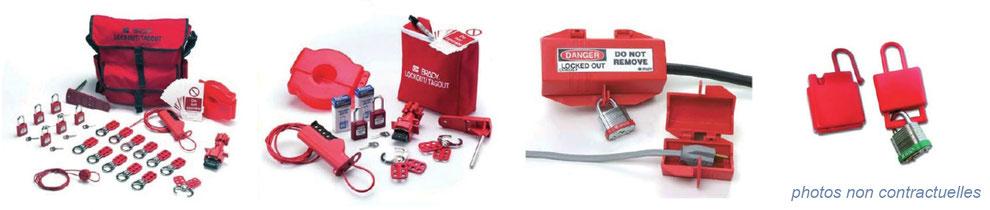 équipement de protection individuelle : dispositifs de consignation des énergies dangereuses