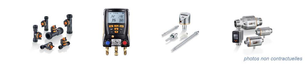 instrumentation de mesure - débit, pression, indicateur de niveau