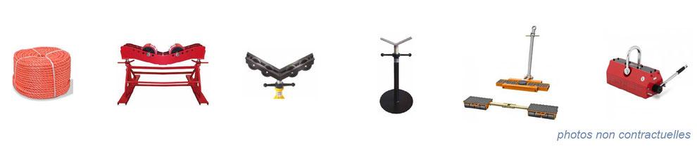 matériel levage manutention, palan treuil, tirefort et transpalette