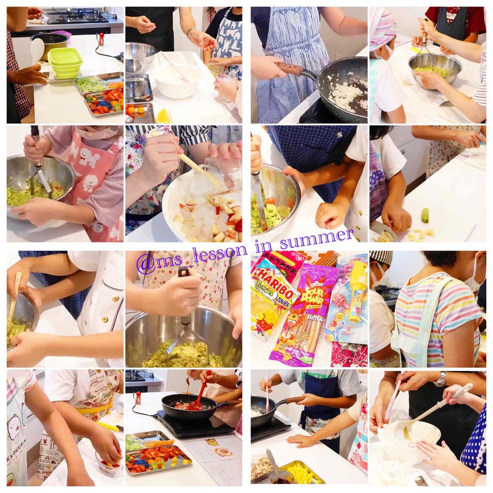 新宿区 子供料理教室 親子料理教室 エムズレッスン